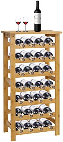 Kinsuite 7-Tiers Wine Rack