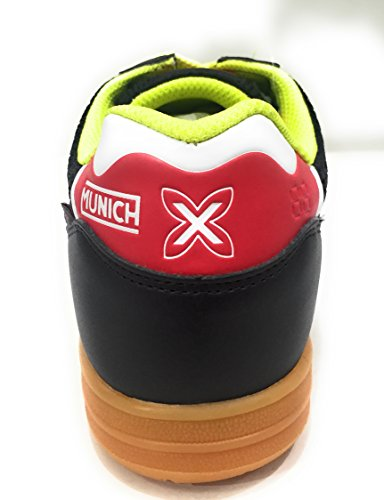3 Munich Unisex Negro Zapatillas Deporte Adulto Indoor de G RRxqY5rS