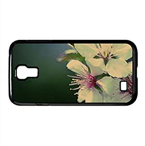 Cherry Flowers Macro Watercolor style Cover Samsung Galaxy S4 I9500 Case (Spring Watercolor style Cover Samsung Galaxy S4 I9500 Case)