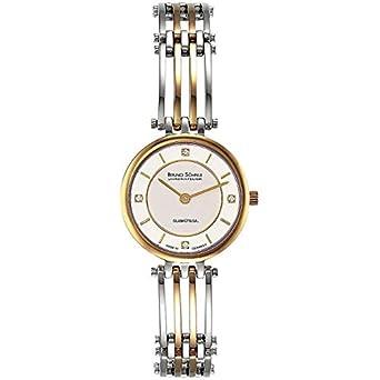 Bruno SÖhnle Damen-Armbanduhr Latina Analog Quarz Edelstahl beschichtet 17-23103-242