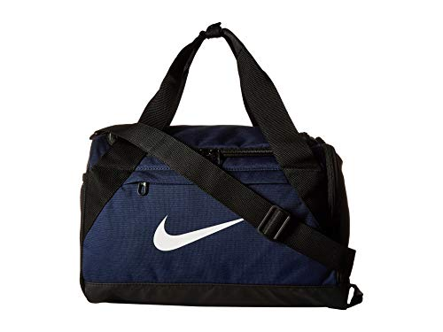 Nike Brasilia Training Duffel Bag (Extra-Small) Midnight Navy/Black/White