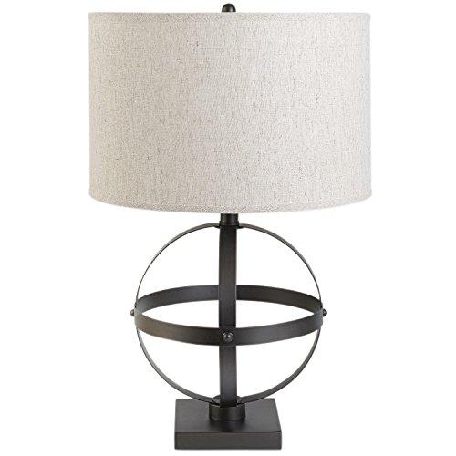 "Globe Electric 12913 Table Lamp, 20"", Bronze"