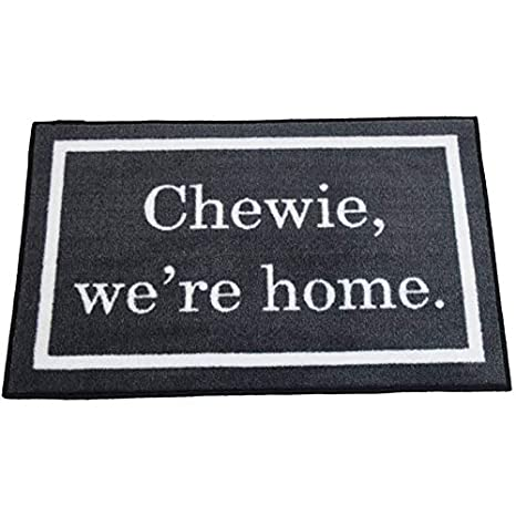Star Wars Quote Chewie Weu0027re Home Welcome Door Mat