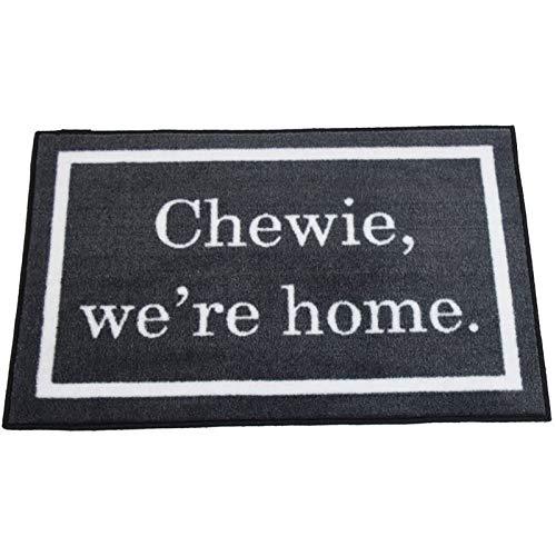 Star Wars Quote Chewie We're Home Welcome Doormat ~2x3 - FMS Exclusive