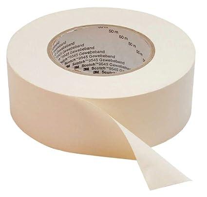 3M 389 Universal High Strength Fabric Tape, 19 mm x 50 m, Black 389S19