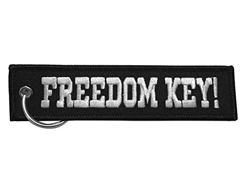 Moto Loot Keychain for Motorcycles, Scooters, Cars and Gifts (Freedom Key)