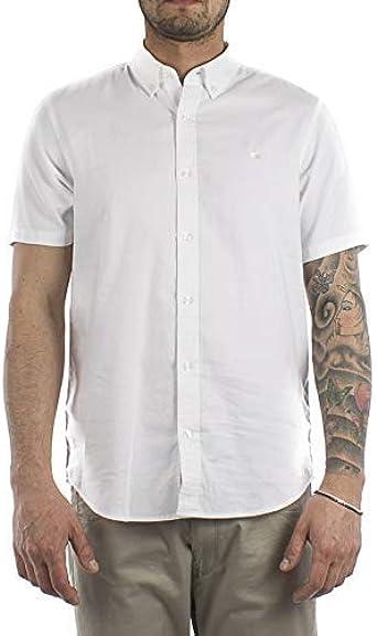 Carhart WIP Camisa de hombre blanca manga corta XXL: Amazon.es: Ropa y accesorios