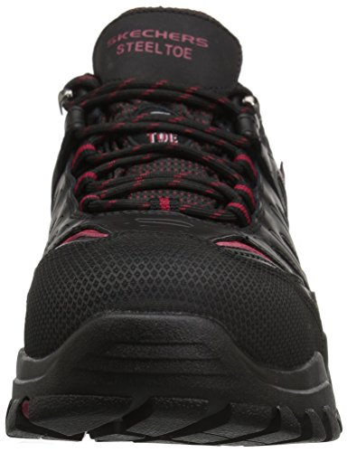 Skechers for Wide Men's Work Black Delleker Red Work ddHIrqxw