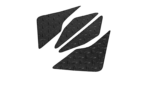 4pcs Motorcycle Anti-slip Gas Tank Traction Pad Knee Grip Sticker For Yamaha Fj-09 2015 2016 2017 Rubber Motocross Black Automobiles & Motorcycles