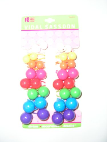vidal-sassoon-childrens-ponytailers-hairponies-hair-ponies-colorful-16-pc-set