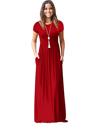 Fiesta Elegantes Rojo Verano Vestido Mujer Juveniles Playero Grandes Vestido Casuales Informales Tallas Maxi Ceremonia Diario Con Señora Largo Vestidos Manga Largos Vestidos Vestidos Playeros Corta de npFq4xXX