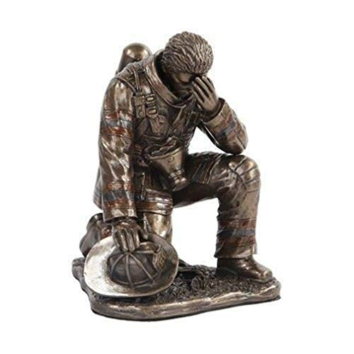 Ky & Co YesKela Firefighter Fireman Reflection Figurine 5.75