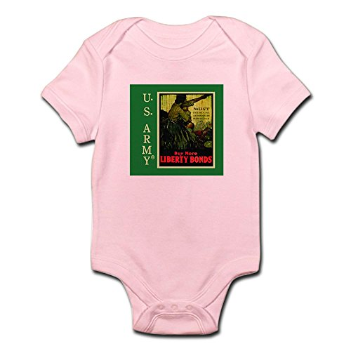 CafePress Buy More Liberty Bonds Infant Bodysuit - Cute Infant Bodysuit Baby Romper (Bonds Baby Bodysuits)