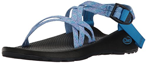Chaco Women's ZX1 Classic Athletic Sandal, Braid Blue, 8 M US