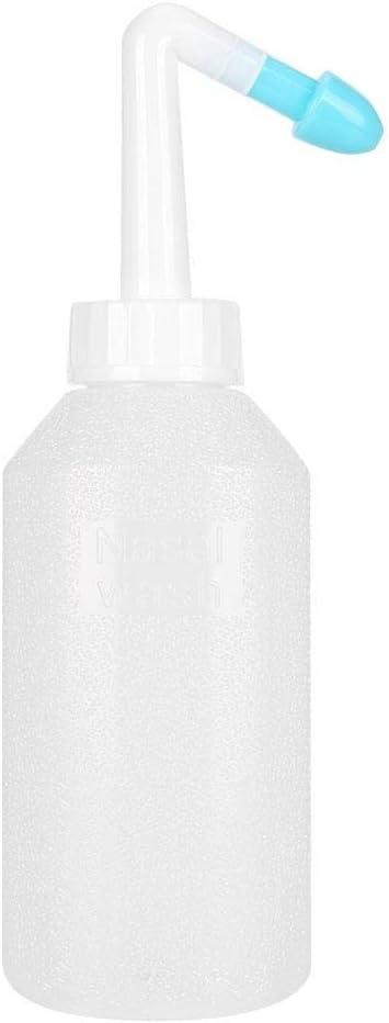 500 ml Limpiador de enjuague nasal port/átil botella de lavado nasal Duevin herramienta para el cuidado de la nariz de irrigaci/ón