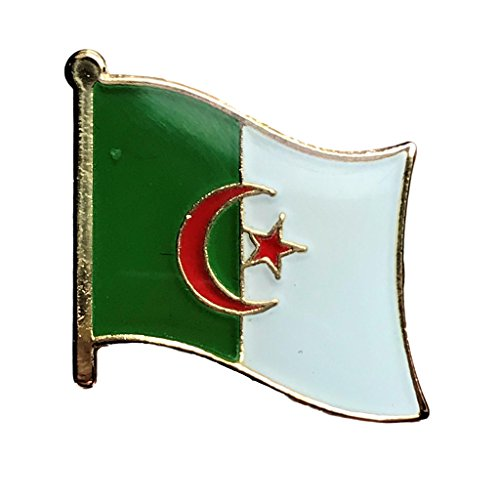Backwoods Barnaby Algeria Flag Lapel Travel ()