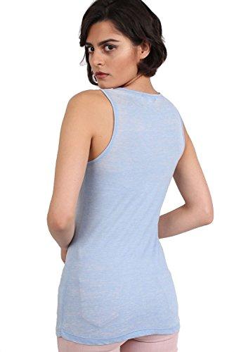 PILOT® tapa del chaleco de impresión lema agotamiento azul polvorienta