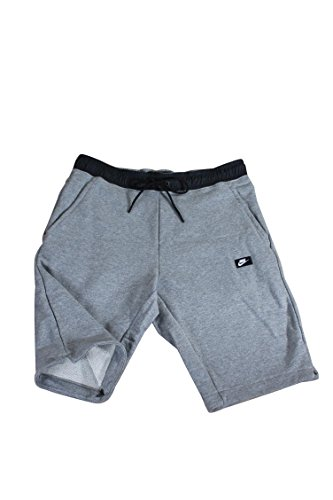 Nike mens M NSW MODERN SHORT FT 805152-091_M - CARBON HEATHER/BLACK