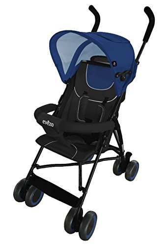 5 Point Harness Reclining Umbrella Stroller - 3