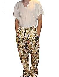 Sand Storm Baggy Chef Pants 100% Cotton XS-6X Vintage, Cupcakes Pockets