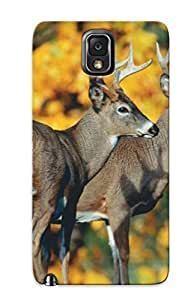 For Galaxy Note 3 Premium Tpu Case Cover Deer Buck Protective Case