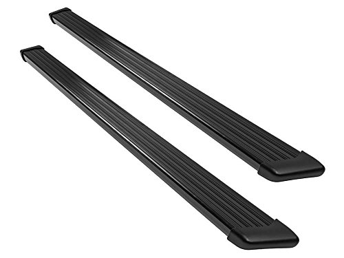 Ionic 61 Series Black Running Boards 1995-2004 Chevy Blazer (S10 GMC Sonoma) GMC Jimmy 4 Door (Without Body Cladding) (Chevy Series Boards Running)