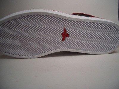 Creative Recreation Solano–Mid, material exterior de piel, forro interior y cr175–30, Negro de color rojo, tamaño 42/Us 9/UK 8/27cm
