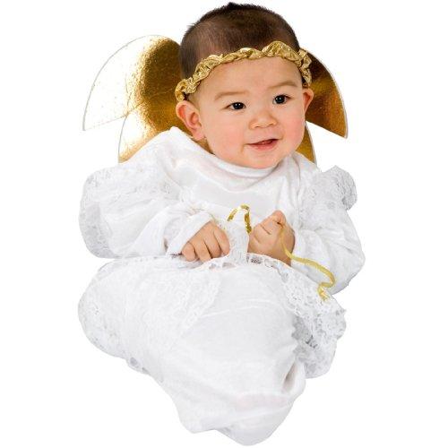 Little Angel Bunting Baby Costume]()