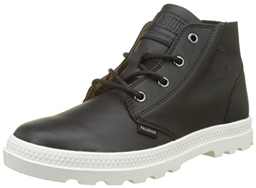 para Free Zapatillas Mujer Negro Marshmallow 585 Palladium Leather Black Altas Pampa 5qYXwO