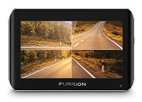 Furrion FOS07TASF 7'' Vision S Wireless Vehicle Observation System: 7-inch Monitor and 1 Rear Sharkfin Bracket Camera