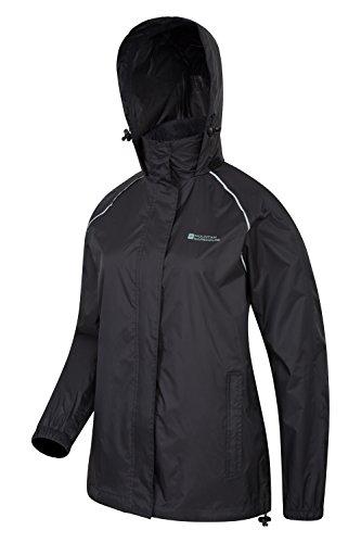Mountain Pour dcontracte les pour manteau pliable la femmes marche respirante femmes Impermable pour lgre Pakka Veste voyages Noir Warehouse veste 44 confortable Fxwq0ZrFa