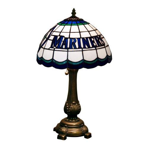 MLB Seattle Mariners Tiffany Table Lamp (Mariners Memory Seattle)