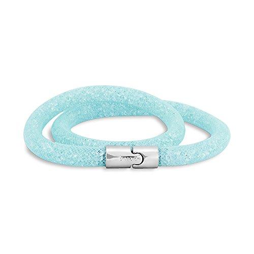 Swarovski Stardust Light Blue Double Bracelet 5120149