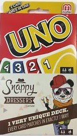 UNO Card Game Snappy Dressers 2 Card Games in ()