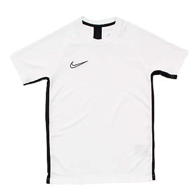 ca3451af1 Nike Kid's Dri-FIT Academy Short-Sleeve Football Top, White Black, ...
