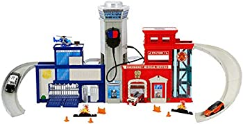 Matchbox Real Adventure Rescue Headquarters Playset