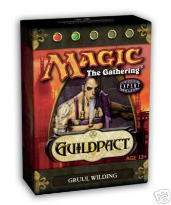Magic the Gathering * Guildpact Theme Deck: Gruul Wilding * (Red/Green) - OUT OF PRINT B000M5UT7C