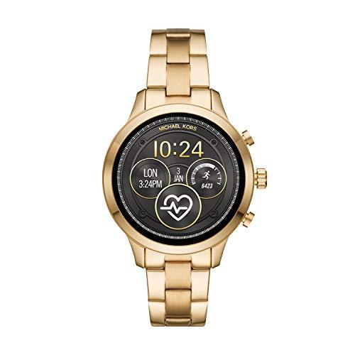 Michael Kors Damen-Smartwatch mit Edelstahl Armband MKT5045