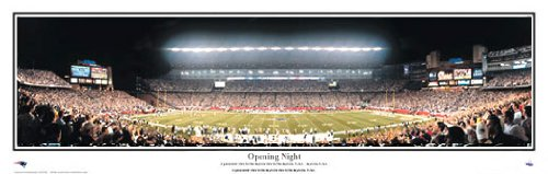 Everlasting Images New England Patriots Gillette Stadium Framed Panoramic