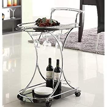 Amazon.com - Etha- Serving Carts On Wheels- Beverage Cart ...