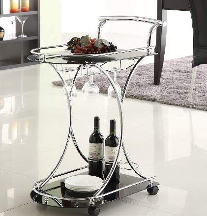 Amazon.com - Etha- Serving Carts On Wheels- Beverage Cart ...