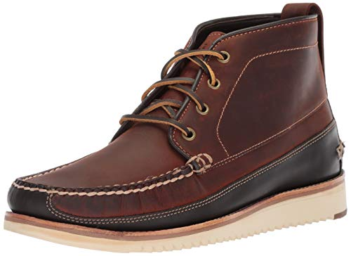 Mens Boot Chukka Shell - Cole Haan Men's Pinch Rugged Chukka Fashion Boot, Tortoise Shell/After Dark, 8 M US