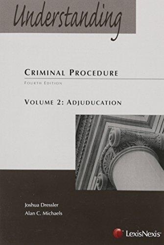 Top understanding criminal procedure volume 2