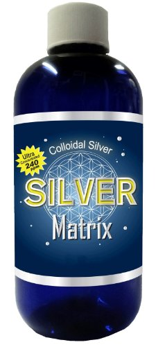 Colloidal Silver Ionic Silver 240 Ppm Ultra Concentrated 16 Ounces!