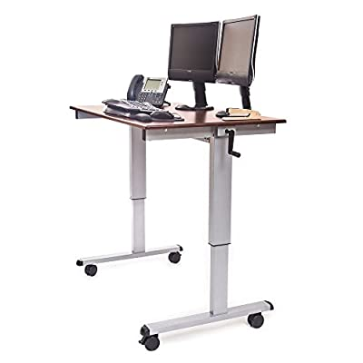 Luxor/ H Wilson Crank Adjustable Standup Desk
