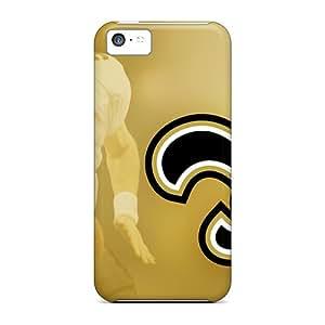 [HgU318swdQ]premium Phone Case For Iphone 5c/ New Orleans Saints Tpu Case Cover