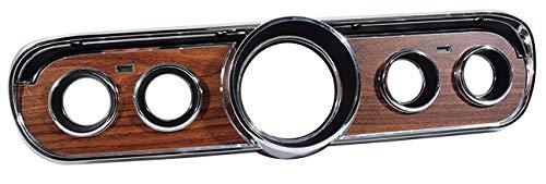 1965-66 Ford Mustang Woodgrain Instrument Cluster Bezel ()