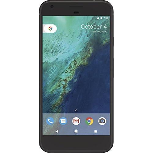 Google Pixel XL Smartphone de 5 5 4G memoria interna de 32 GB RAM de 4 GB cámara frontal de 8 MP Android Negro