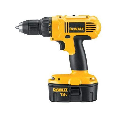 Factory-Reconditioned DEWALT DC759KAR 18 Volt 1/2 Inch Ni-Cad Cordless Drill/Driver Kit