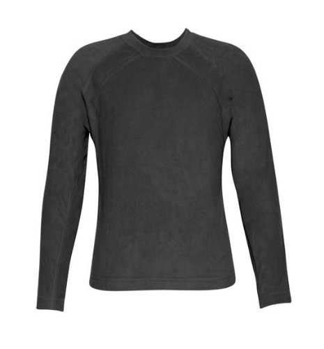 Price comparison product image Terramar Body Sensors Micro Polyester Fleece Long Sleeve Crew - Girl39;s